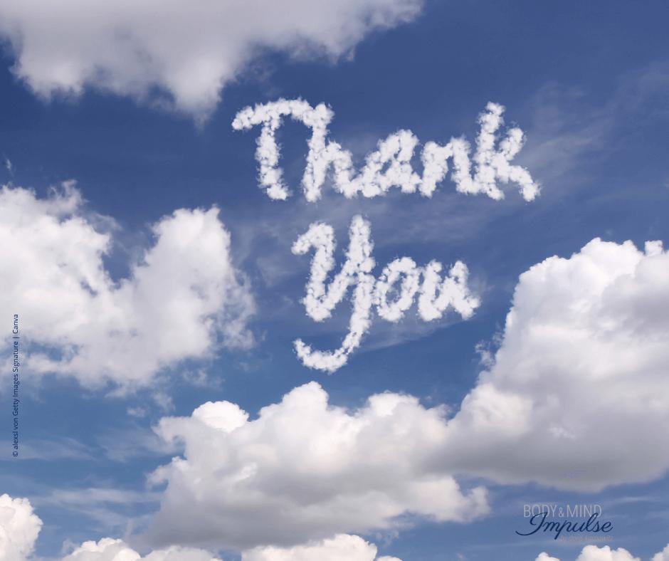 Danksagung an die Menschen, die mir auf vielfältige Weise helfen.