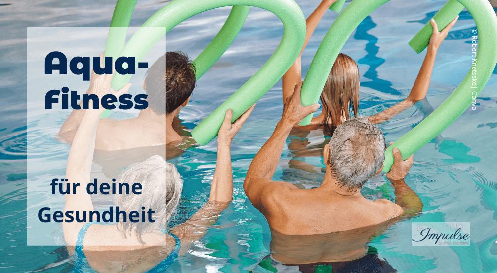 Physiotherapie bei MS | Aqua-Fitness | Für Menschen die an MS leiden eine sehr empfehlenswerte sportliche Betätigung.