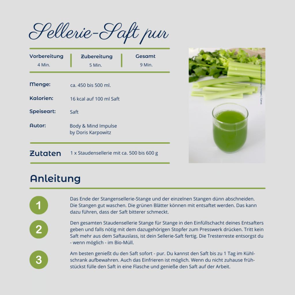 Sellerie-Saft: Alles über den Superfood-Drink 2